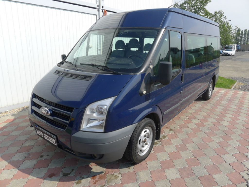 Ford Transit 300L 2,2TDCI 9míst + klima Trend Ak - 0