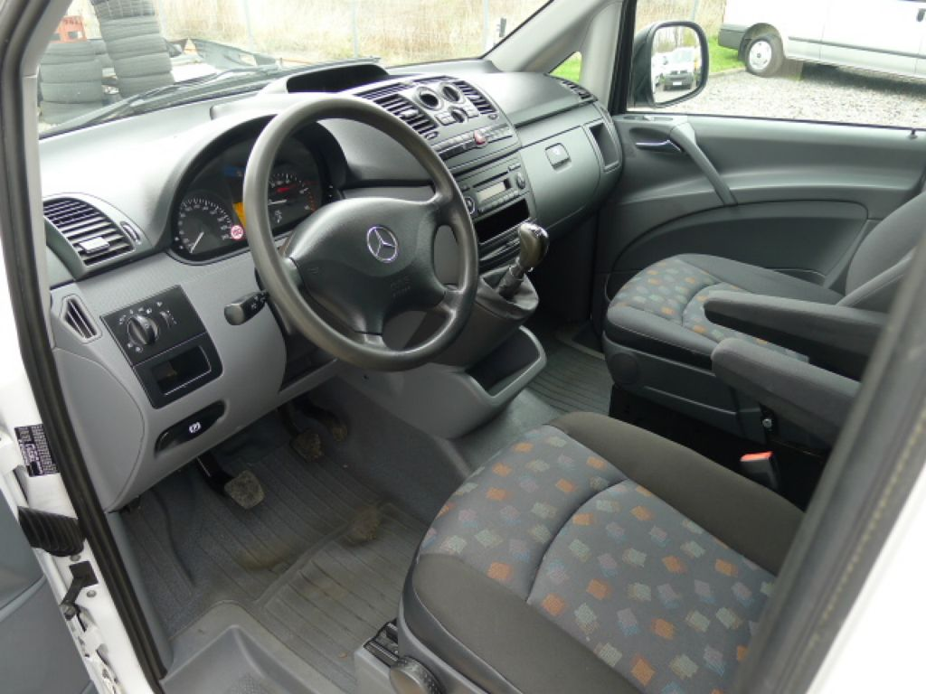 Mercedes-Benz Vito 111 CDI XL 8Míst+2xKlima Akce!!! - 8