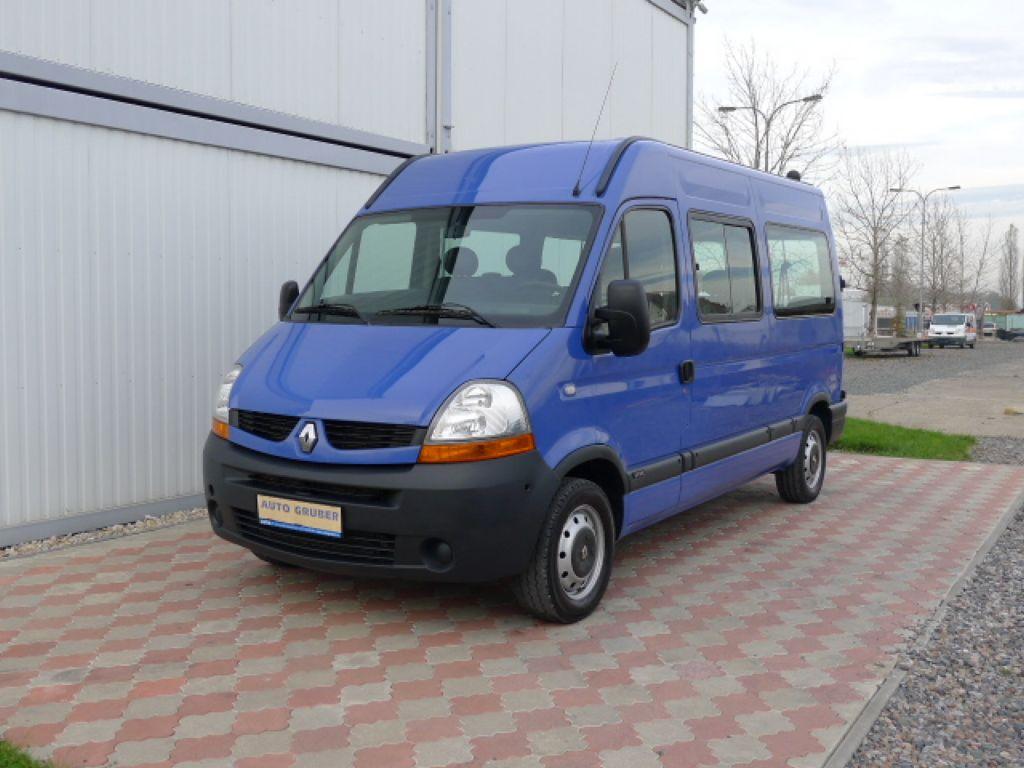 Renault Master 2,5 DCI L2H2 9míst+Klima
