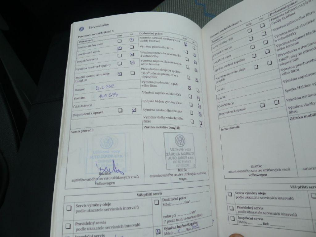 Volkswagen Caddy 2.0i benzín+CNG Nová Nádrž!!! - 16
