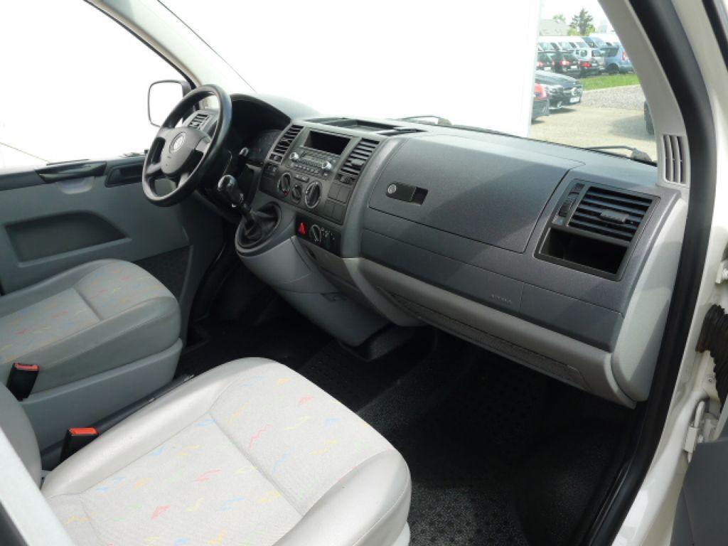 Volkswagen Transporter 1,9 TDI 8míst +klima Akce!!! - 9