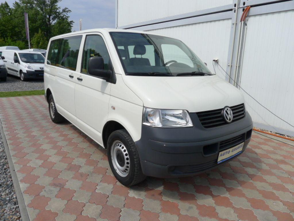 Volkswagen Transporter 1,9 TDI 8míst +klima Akce!!! - 1