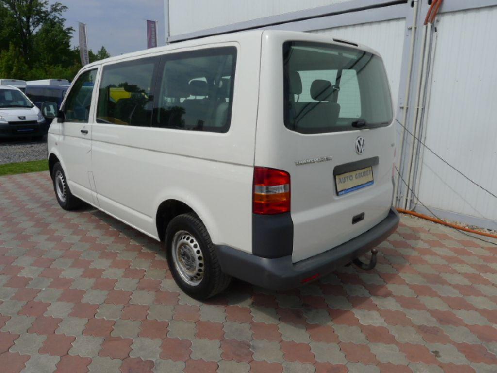 Volkswagen Transporter 1,9 TDI 8míst +klima Akce!!! - 4