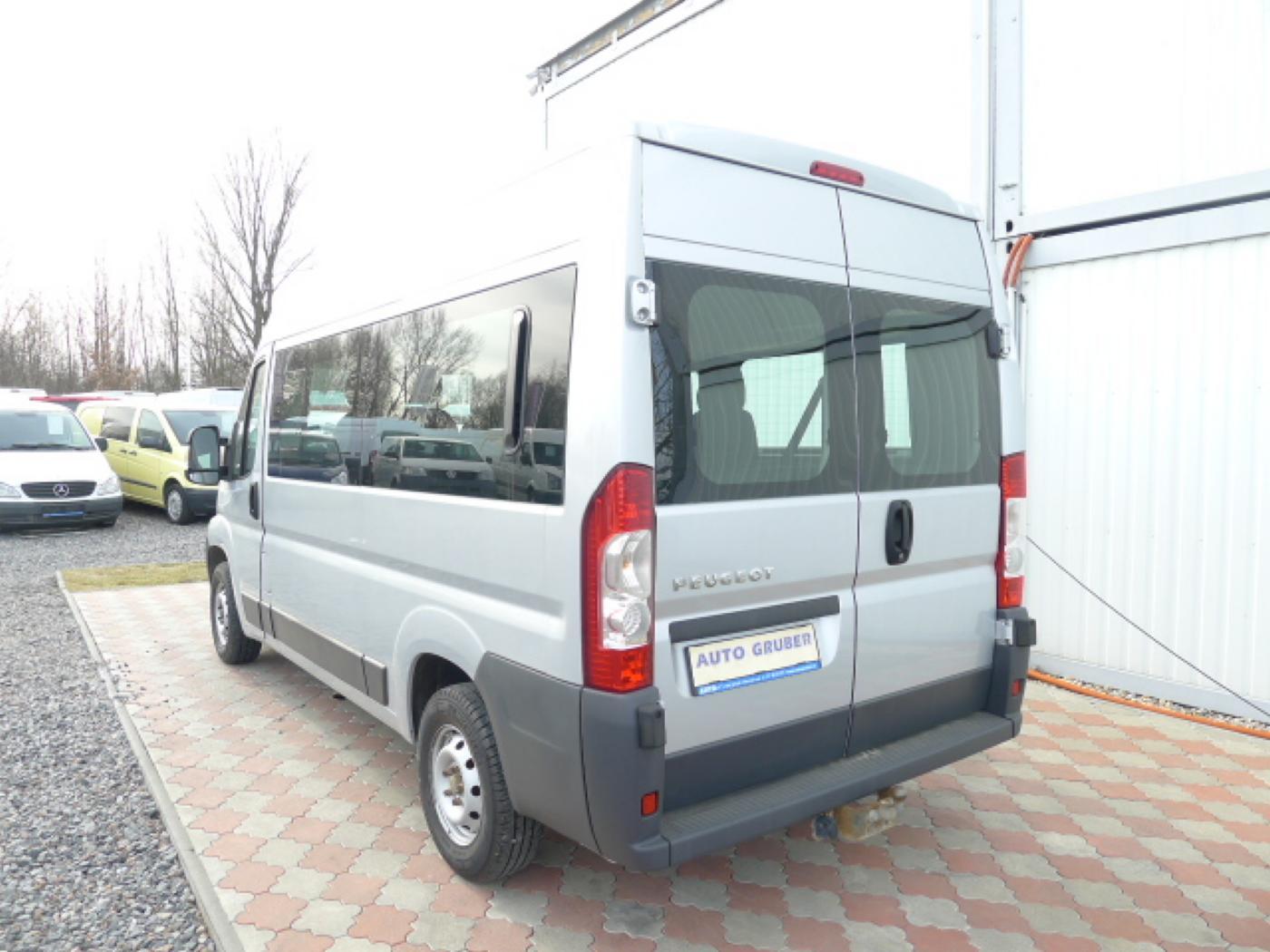 Peugeot Boxer 2,2 HDI PANORAMA 8míst+2 x klima+We - 4