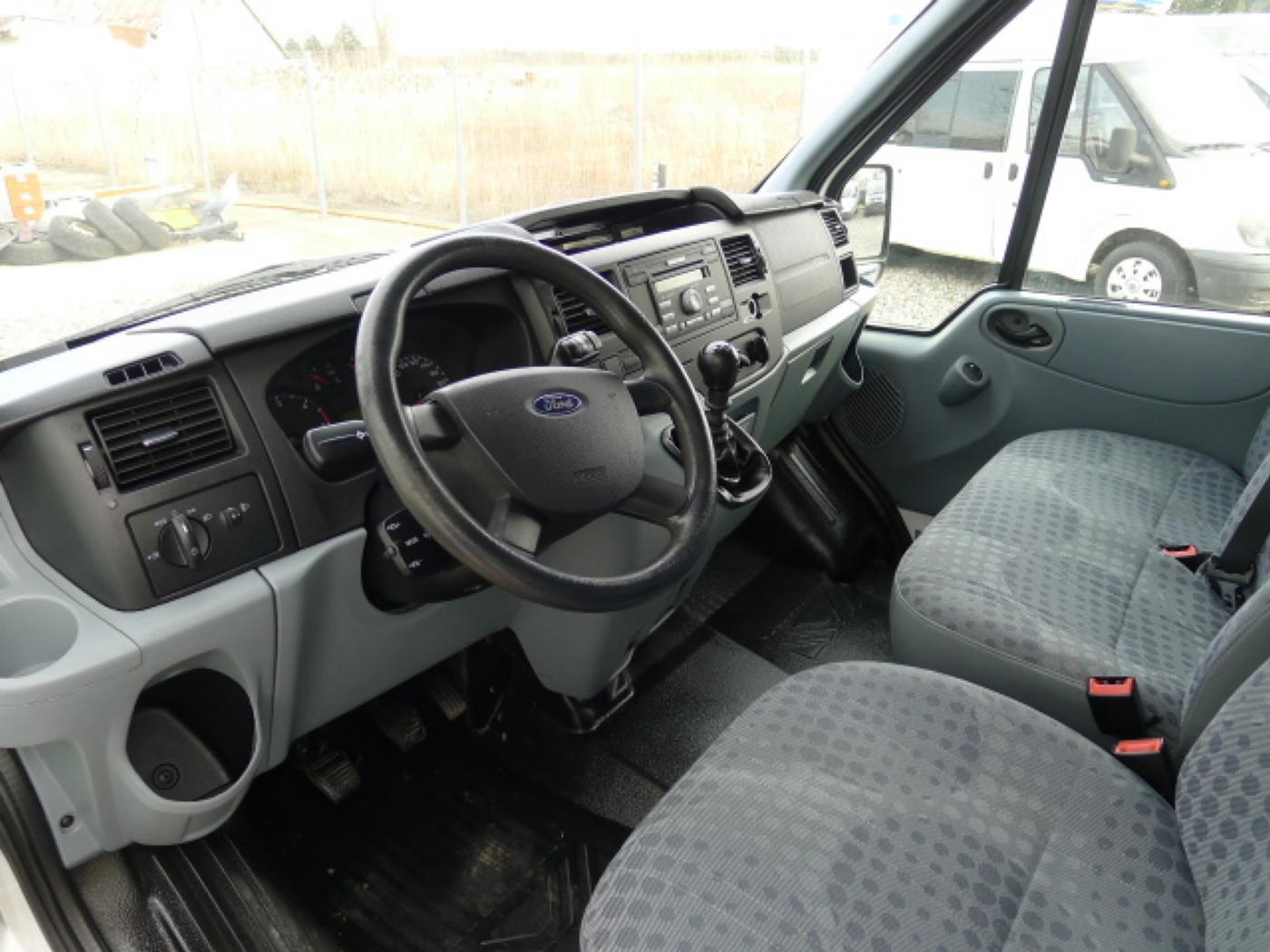 Ford Transit 280 2,2TDCI 9míst+Klima Akce!!! - 8