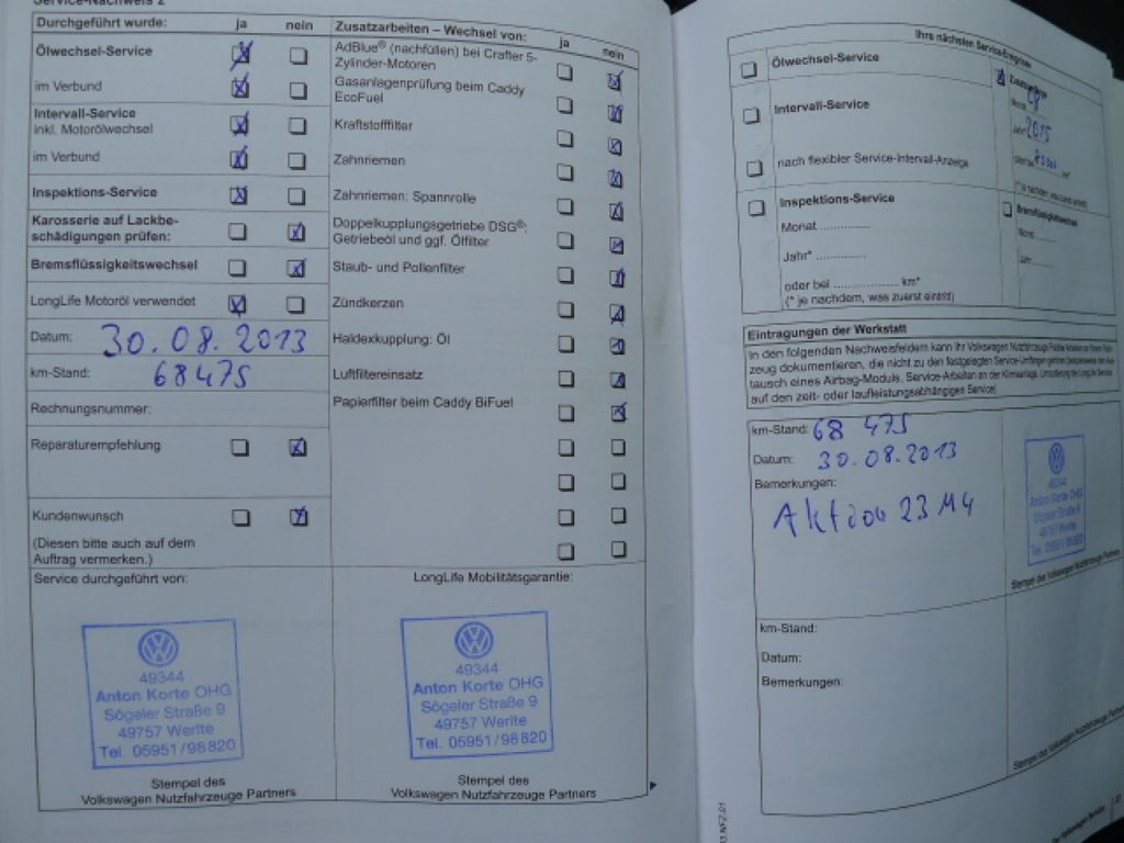 Volkswagen Crafter 2,0 TDI Maxi 6míst+Klima Akce!! - 14