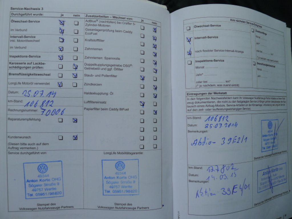 Volkswagen Crafter 2,0 TDI Maxi 6míst+Klima Akce!! - 15