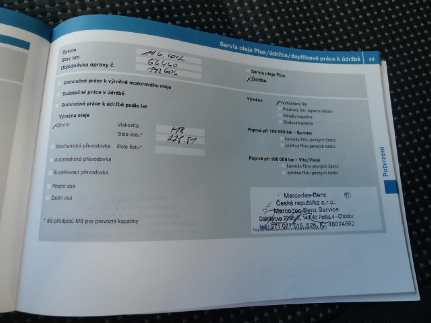 Mercedes-Benz Sprinter 319 CDI Maxi XXL + Klima Akce!!!! - 18