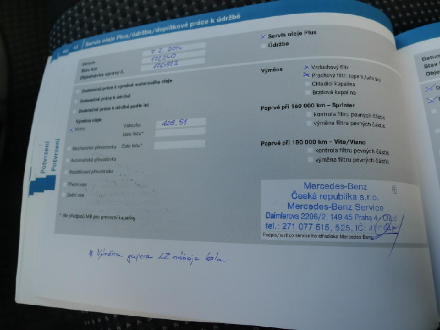 Mercedes-Benz Sprinter 319 CDI Maxi XXL + Klima Akce!!!! - 21