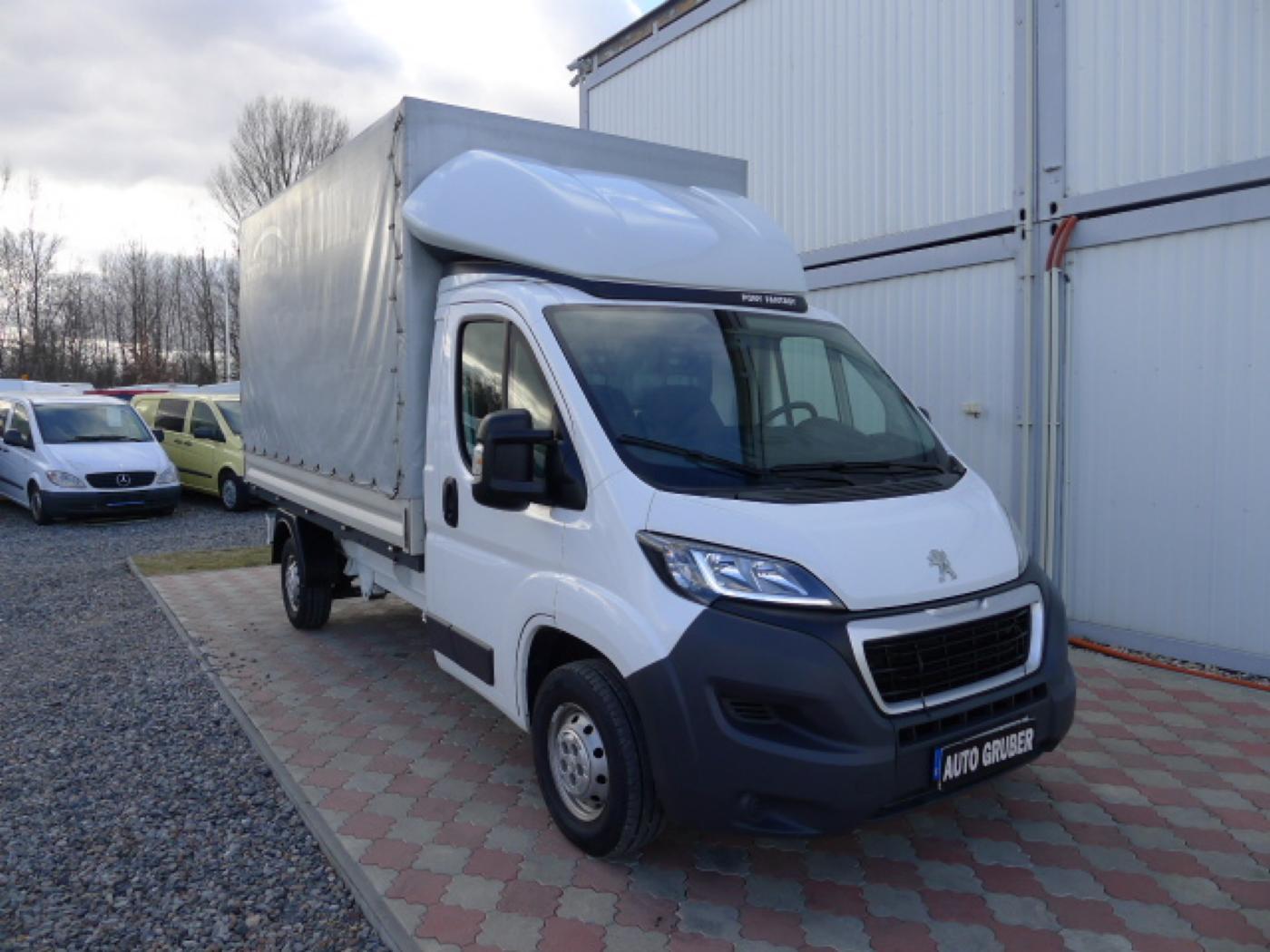 Peugeot Boxer 2,2 HDI Valnik+Plachta+Klima+Mìchy - 1