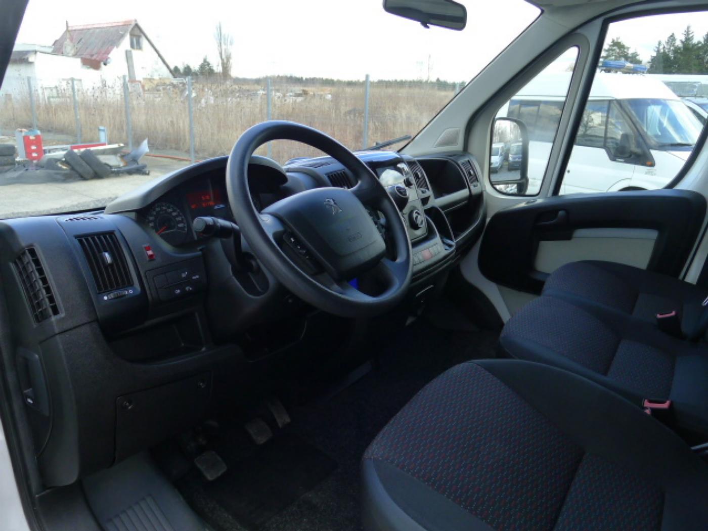 Peugeot Boxer 2,2 HDI Valnik+Plachta+Klima+Mìchy - 8