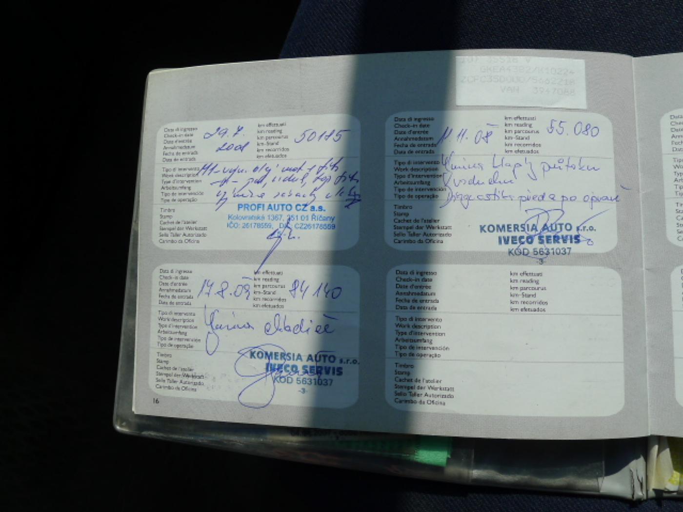 Iveco Daily 35S18 1.Majitel CZ - 14
