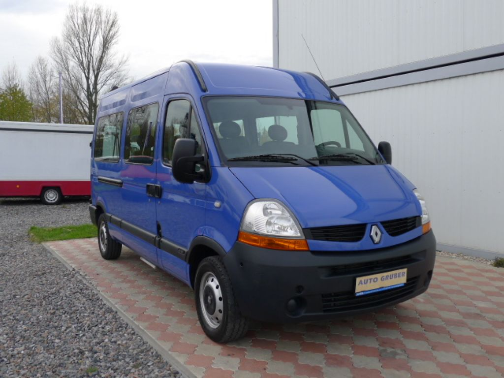 Renault Master 2,5 DCI L2H2 9míst+Klima Akce!! - 2