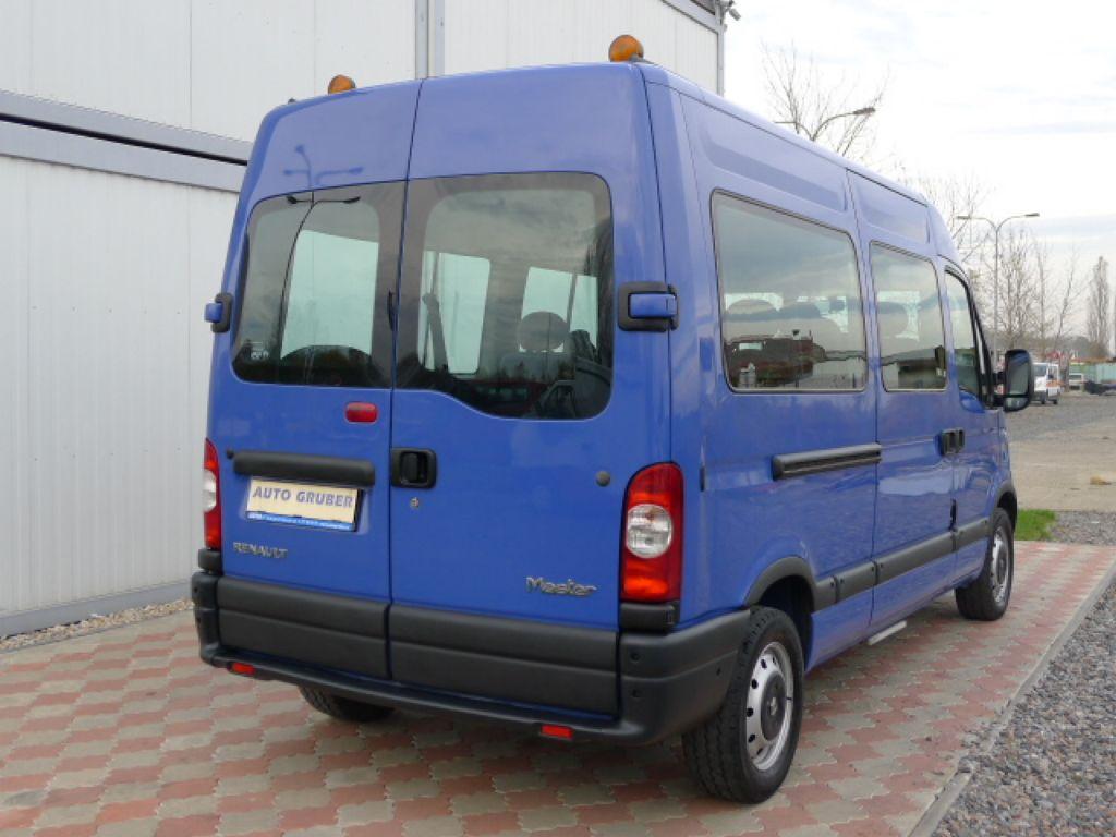 Renault Master 2,5 DCI L2H2 9míst+Klima Akce!! - 4
