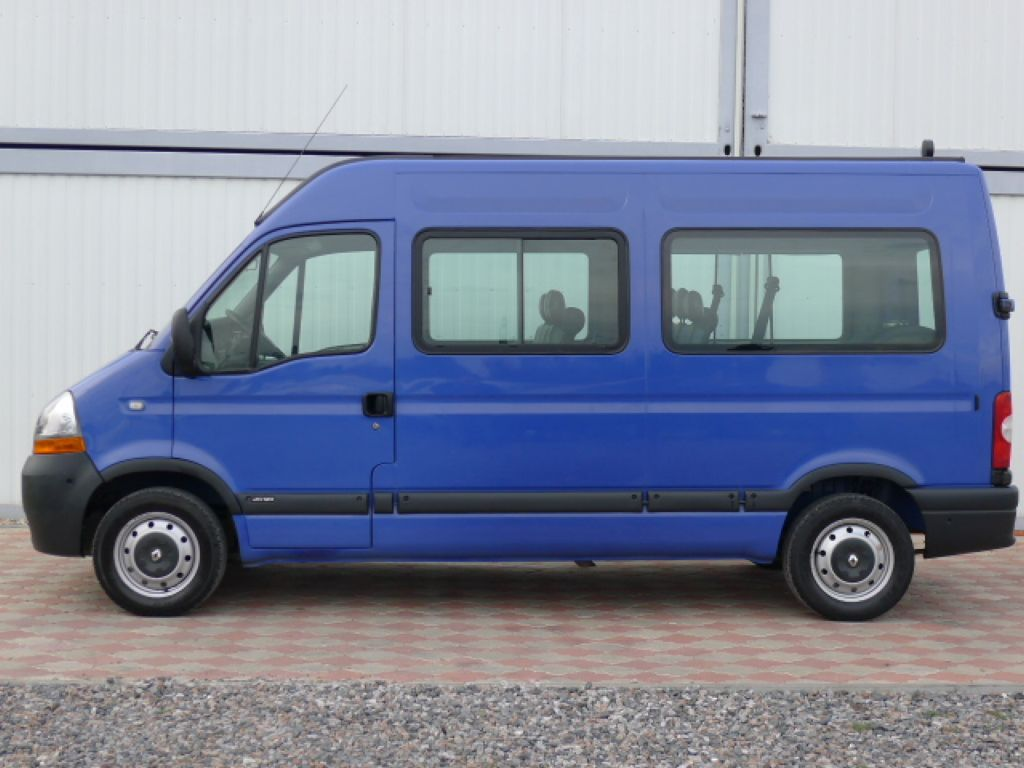Renault Master 2,5 DCI L2H2 9míst+Klima Akce!! - 7