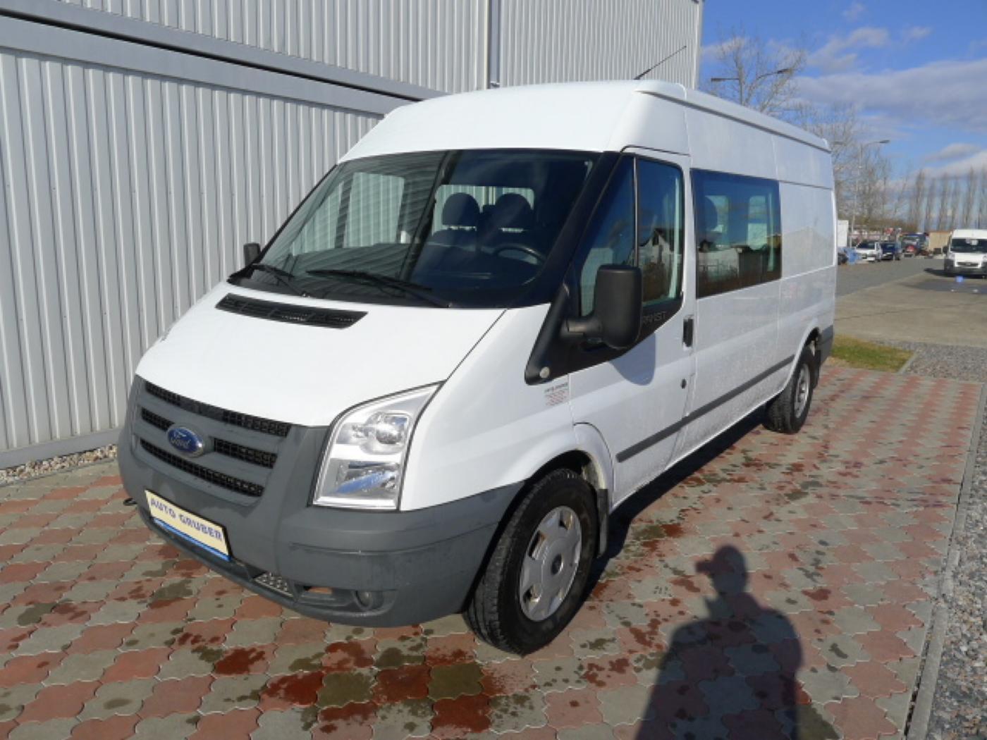 Ford Transit 350L 2,4TDCI 6míst+klima+navi Akce!