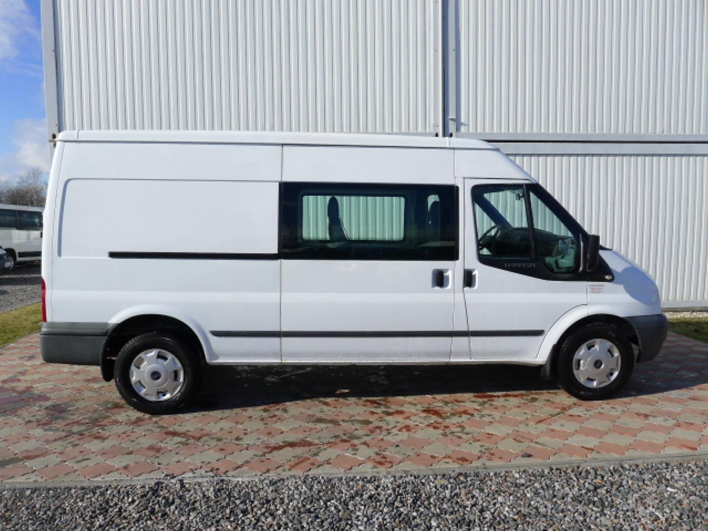 Ford Transit 350L 2,4TDCI 6míst+klima+navi Akce! - 2