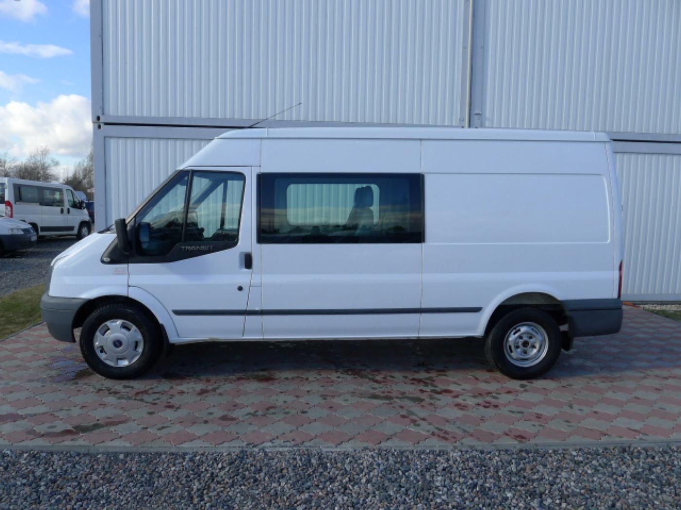 Ford Transit 350L 2,4TDCI 6míst+klima+navi Akce! - 5