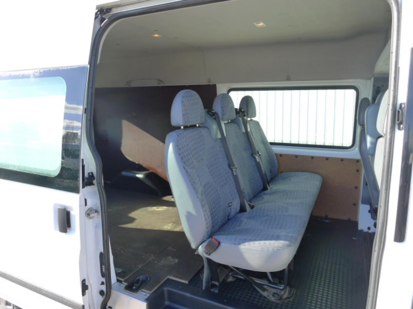 Ford Transit 350L 2,4TDCI 6míst+klima+navi Akce! - 7