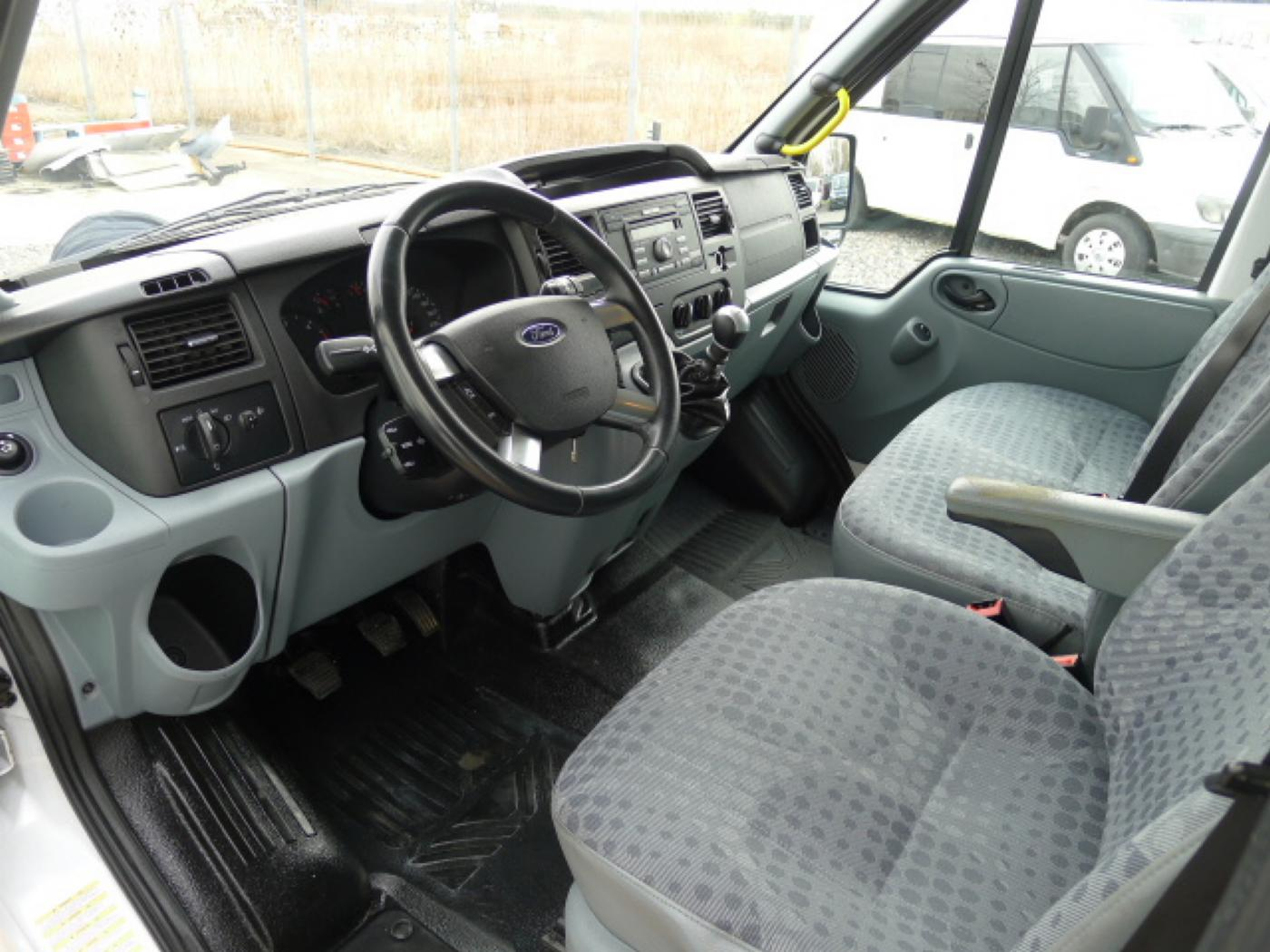 Ford Transit 300L 2,2TDCI 9míst + klima Trend Ak Novinka - 9