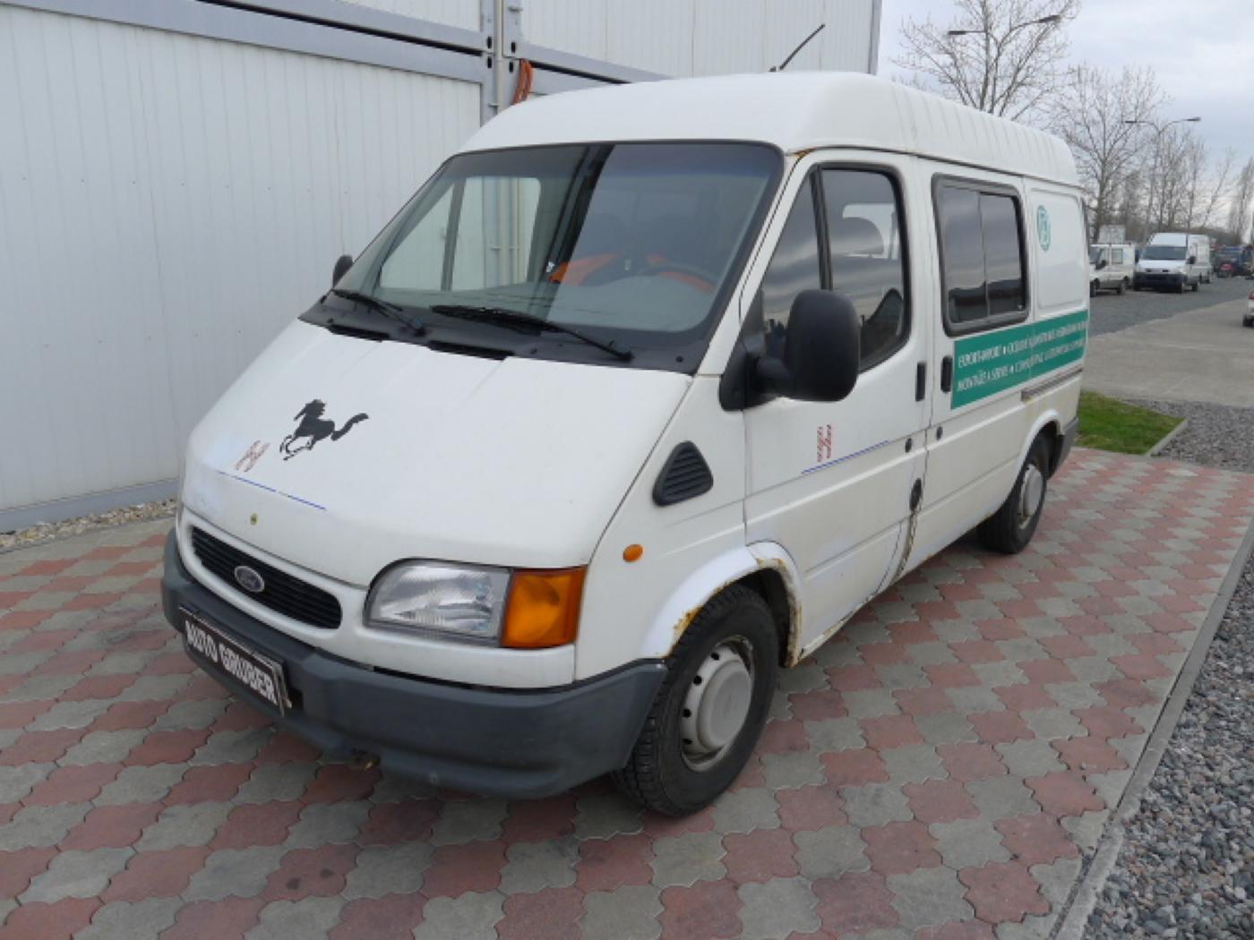 Ford Transit 2,5 TD 6míst EKO ZAPL !!! Novinka
