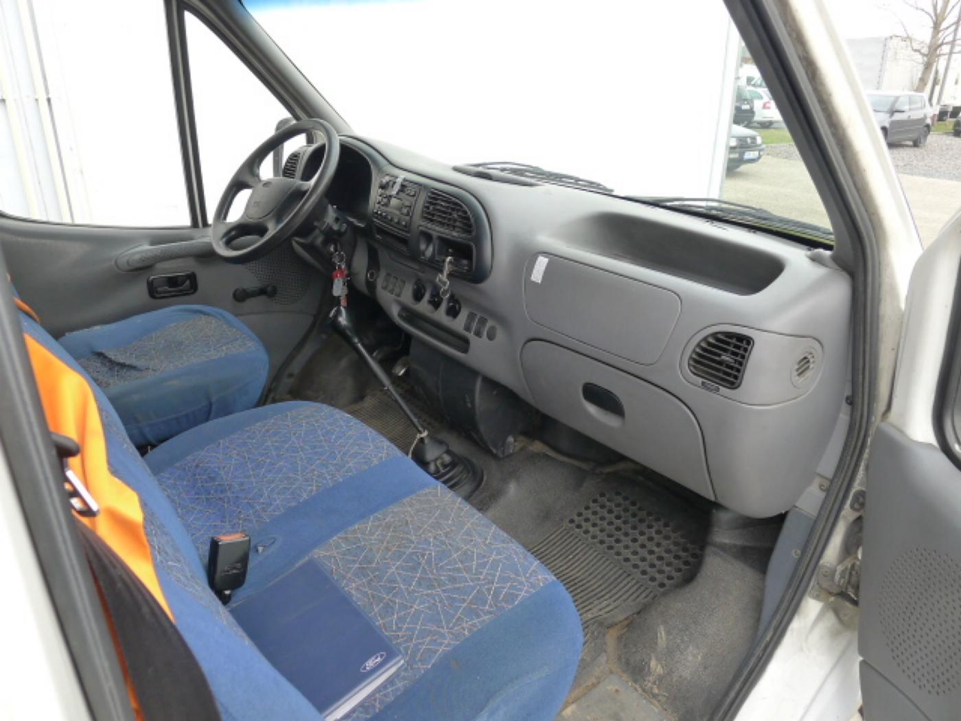 Ford Transit 2,5 TD 6míst EKO ZAPL !!! Novinka - 10