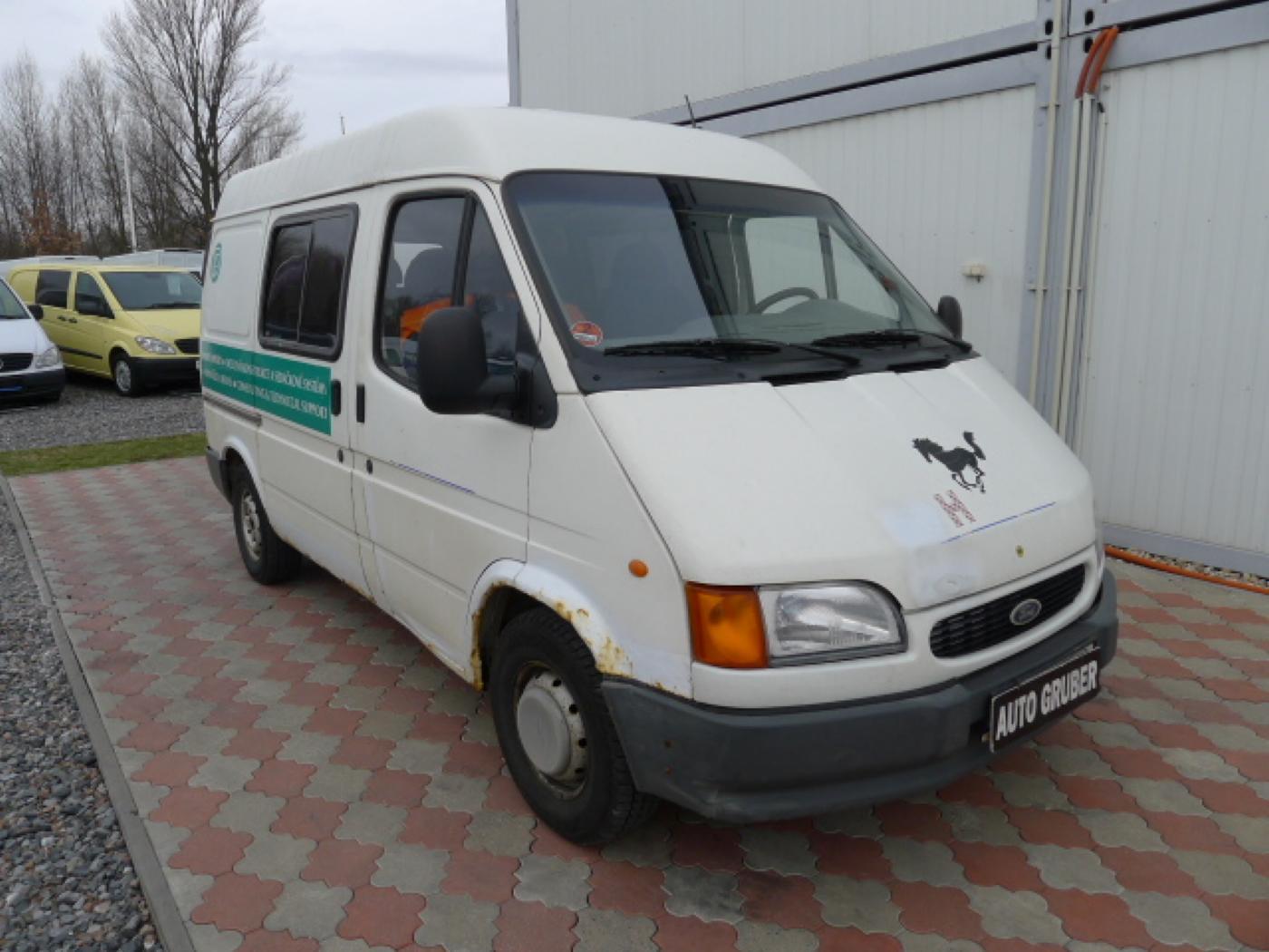Ford Transit 2,5 TD 6míst EKO ZAPL !!! Novinka - 1