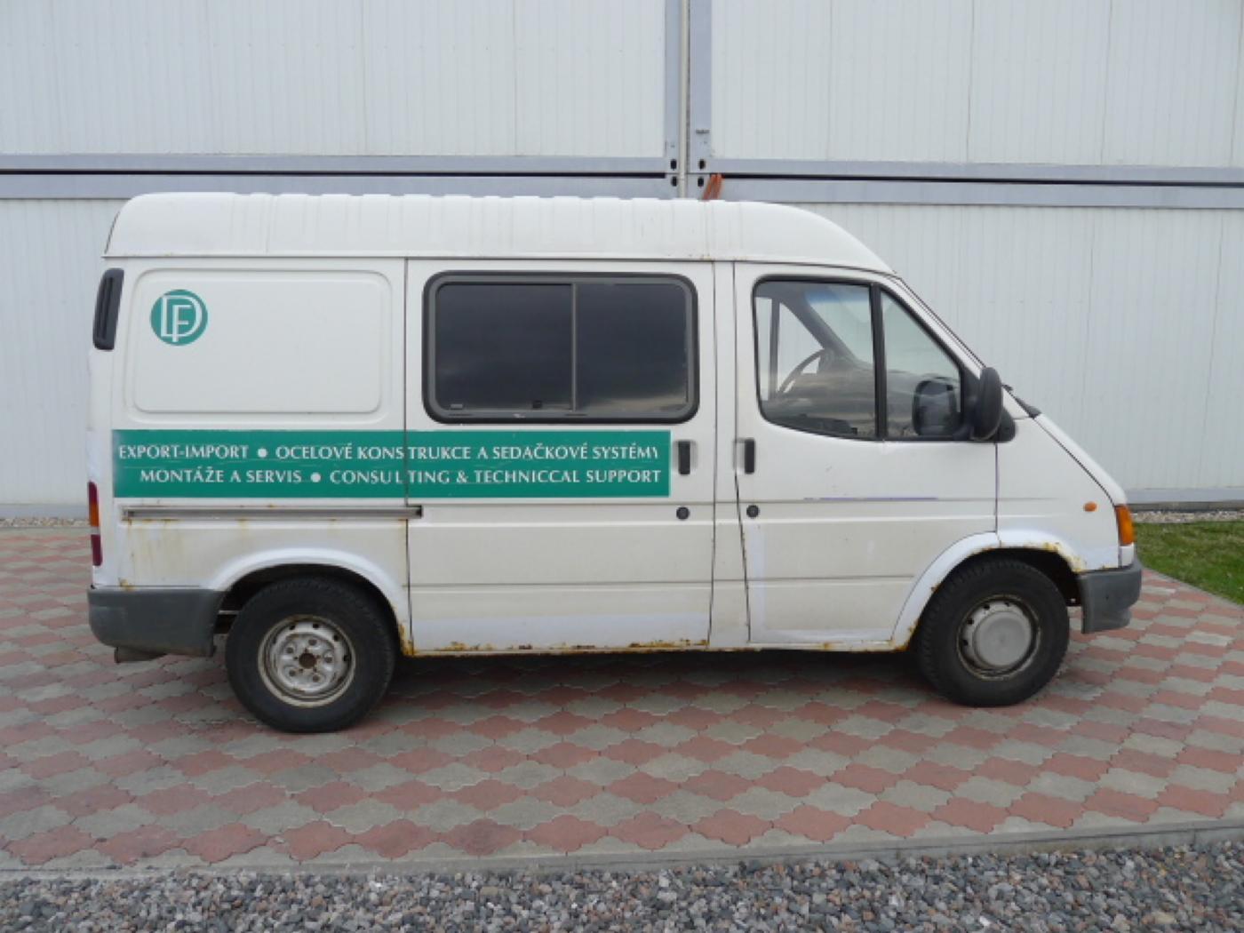 Ford Transit 2,5 TD 6míst EKO ZAPL !!! Novinka - 2