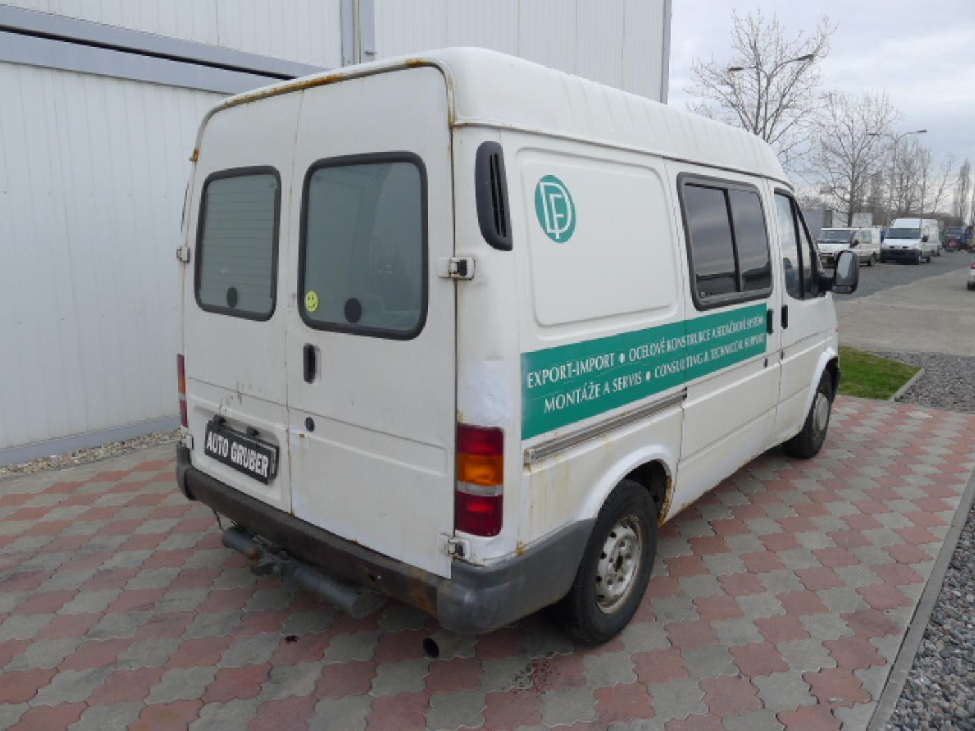 Ford Transit 2,5 TD 6míst EKO ZAPL !!! Novinka - 3