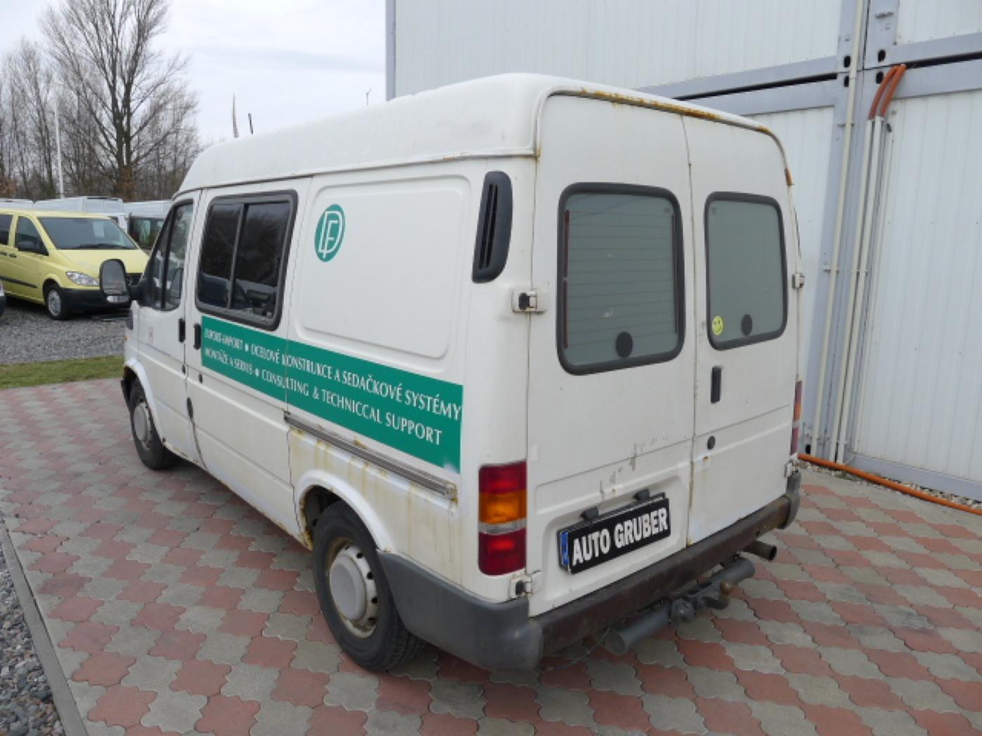 Ford Transit 2,5 TD 6míst EKO ZAPL !!! Novinka - 4