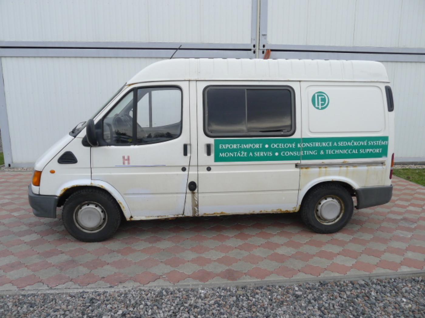 Ford Transit 2,5 TD 6míst EKO ZAPL !!! Novinka - 5