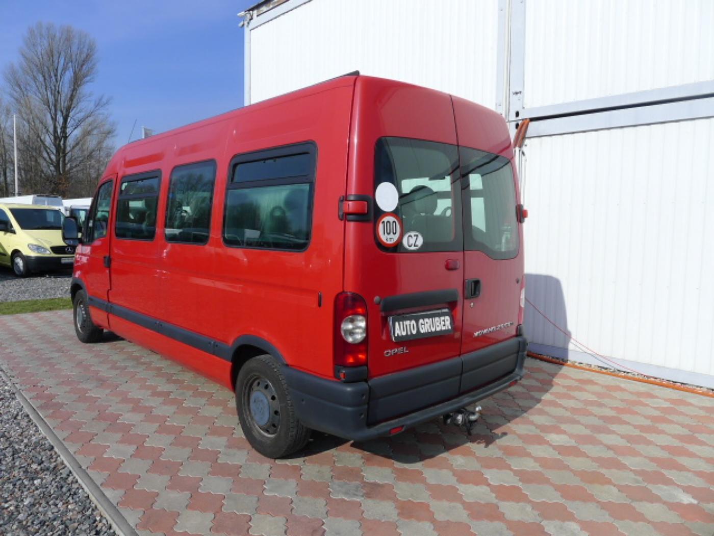 Opel Movano 2,5 CDTI 16míst+klima+webasto Novinka - 4