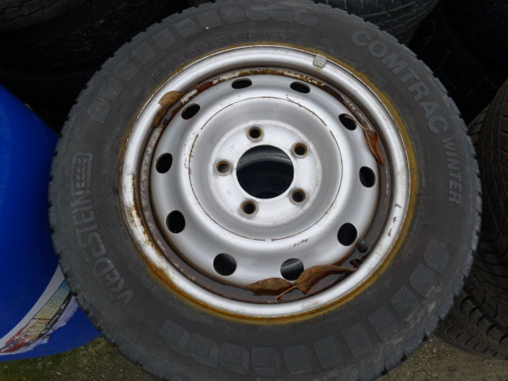 Renault Master 4x pneu+disk 215/65R16C zimní